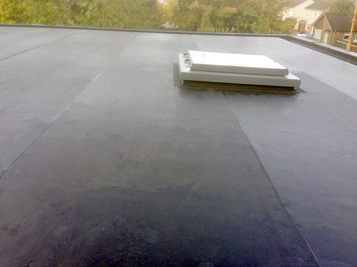 Leaky garage roof